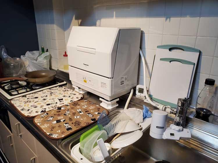 食洗機取り付け写真